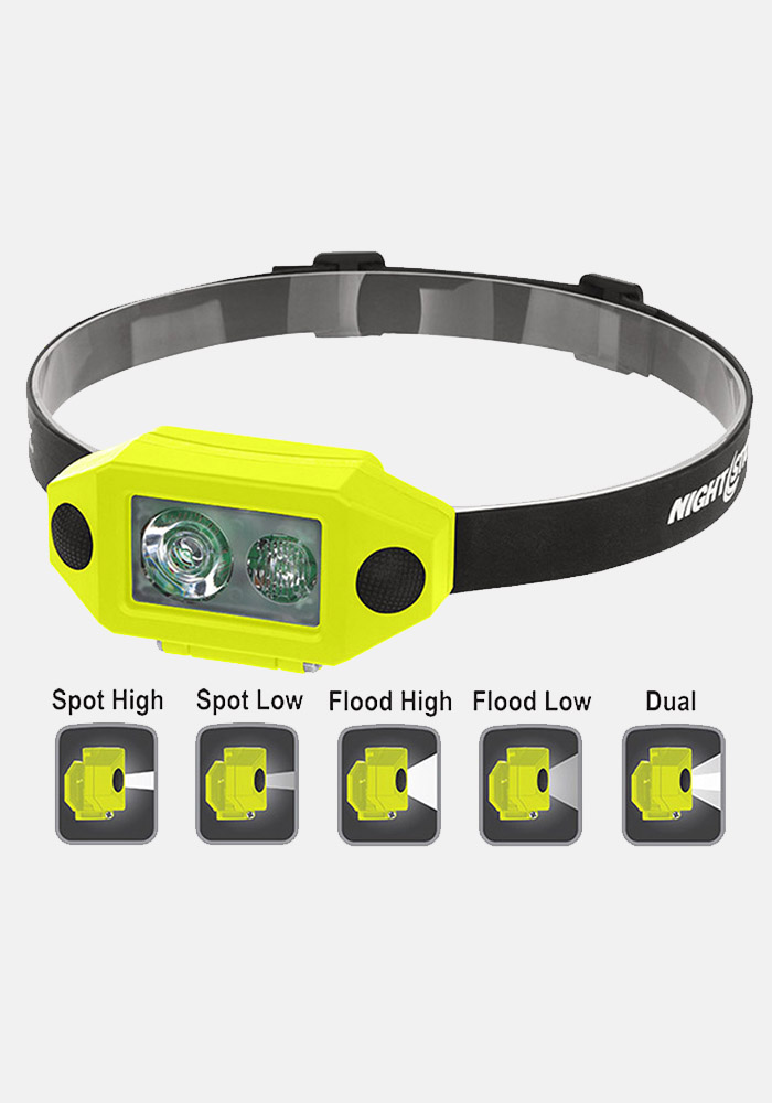 Nightstick X-Series Intrinsically Safe Low-Profile Dual-Light™ Headlamp