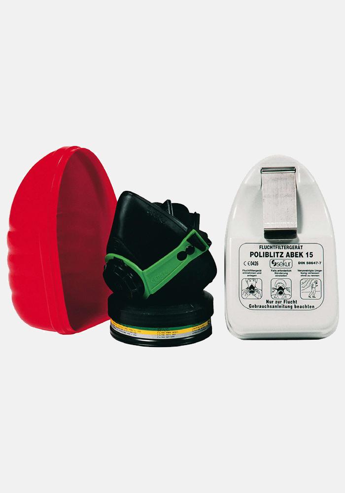 DPI Poliblitz ABEK Emergency Escape Respirator